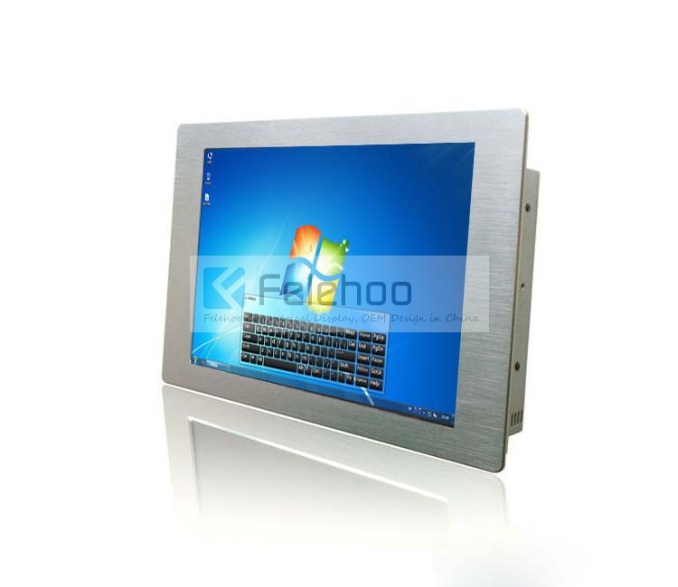 17 Inch Wall Mounted Ir Touch Screen Pc