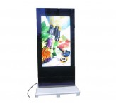 55 inch semi outdoor lcd digital signage sunlight readable high brightness