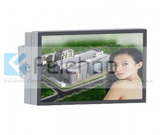 65 inch wall mount outdoor lcd digital sign weatherproof monitor