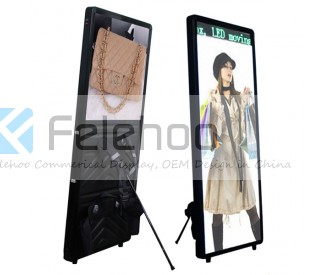 LED Backpack Mobile Walking Sign Light Box Display