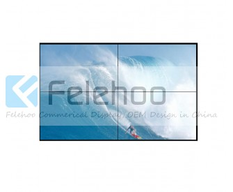 6.5mm bezel 60 inch 2x2 DID LCD Video wall with 700nits