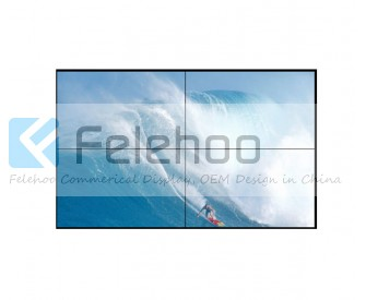 55inch indoor led video wall system 5.3mm bezel 700nits