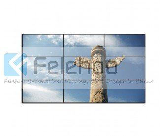 22mm bezel 40 inch Samsung LCD Video Wall 9X Video Walls 450nits