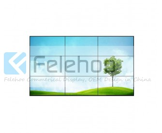 4.9mm Super narrow bezel 47inch LG 3x3 video wall with 500nits