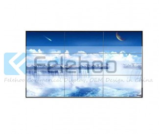 6.7mm bezel 3x3 lcd video wall 46 inch led backlight 700nits video wall