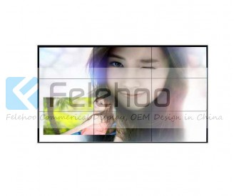 55 inch 3x3 5.3mm ultra narrow bezel lcd video wall with original new Samsung lcd panel