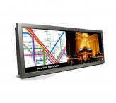 28 Inch Network Advertising Display Bar LCD Stretched Display