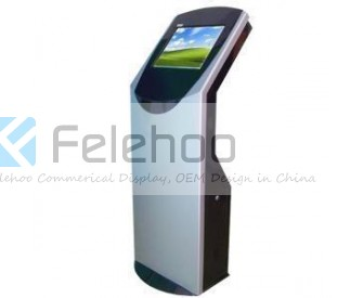 19inch touch screen information kiosk terminal