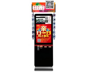 42inch touch screen self service photo kiosk for taking pictures
