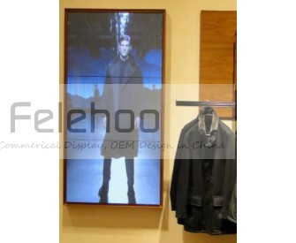 1x3 portrait screen 46inch samsung led video wall with utral slim 5.3mm bezel 700cd/m2