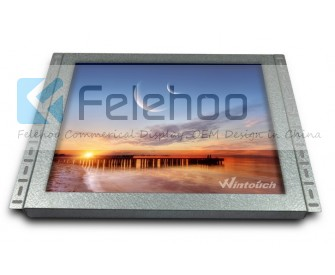 18.5inch 10points capacitive touch screen monitor open frame
