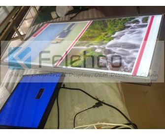 55inch Open Frame Monitor Industrial grade Fanless Panel