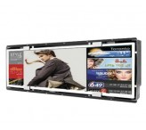 37.2inch Slim Stretched Bar type display public information open frame