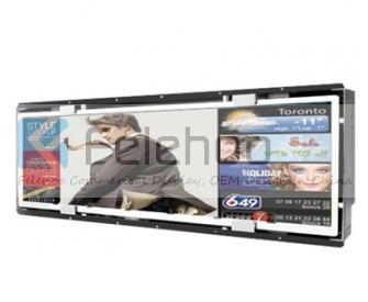 37.9inch Open Frame 1/2-cut Stretched display/Bar display