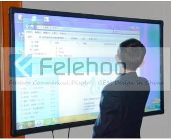 60 inch Multi touch interactive smart board touchscreen