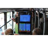 32 inch bus coach digital advertising TV support 3G/4G