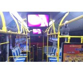 26 inch bus wifi advertising player best digital signage
