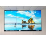 3x3 LG 55 inch 3.5mm Narrowest bezel DID LCD video Wall with 500nits