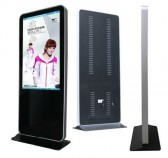 40 inch LCD kiosk floor stand digital signage totem