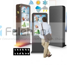 32inch outdoor Interactive touchscreen digital signage weather resistant