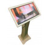 21.5inch capacitive multi-touch screen free standing kiosk