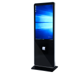 42Inch Interactive touchscreen kiosk with ticket printer floor standing