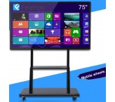 75inch Interactive Touch Display 4K Large Touch Screens whiteboard