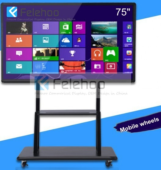 Large Touch Screen >> 75inch Interactive Touch Display 4k Large Touch Screens