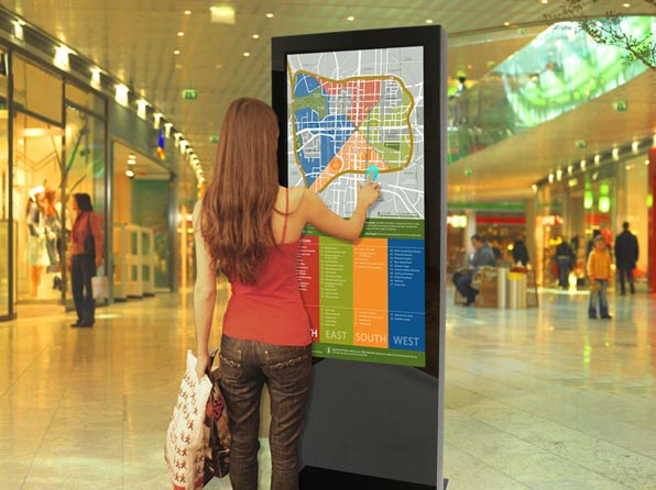 shopping mall advertising touch screen kiosk,Smart Kiosk,Touch Screen Floor Mounted Kiosk supplier