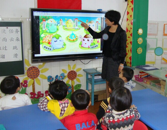 large format touch screen monitors for school teaching