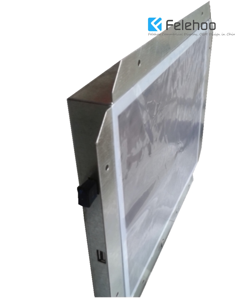 "12.1"" tft open frame lcd monitor-advertising player-frameless ome design-Felehoo.com"