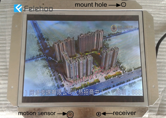 "10"" tft lcd monitor open frame advertising player with usb interface-Felehoo.com sell cheap price"