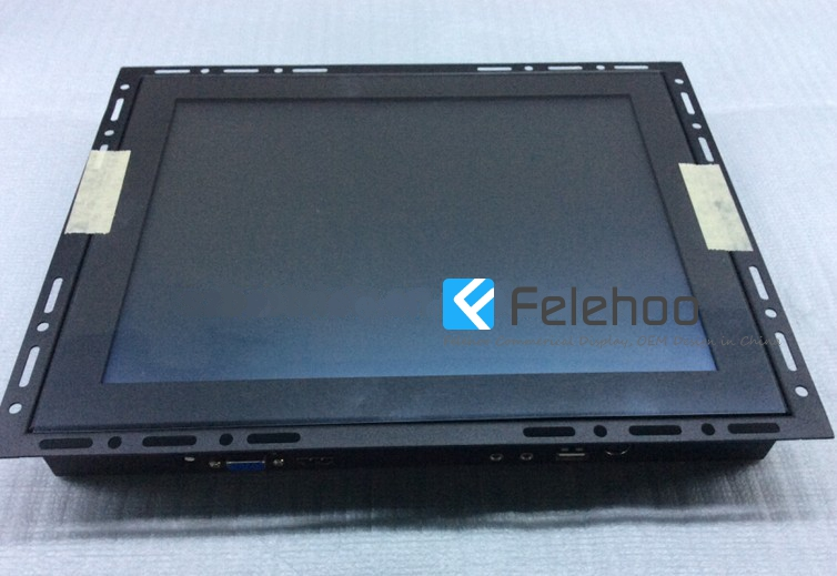 frameless touch screen monitor open frame support ELO driver