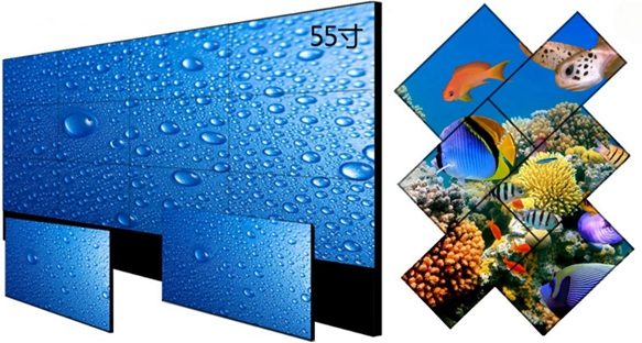 narrow bezel lcd video monitors,DID seamless lcd Multi screen monitors supplier