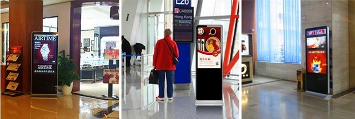 floor stand digital signage totem for shopping mall,chain stores public palce