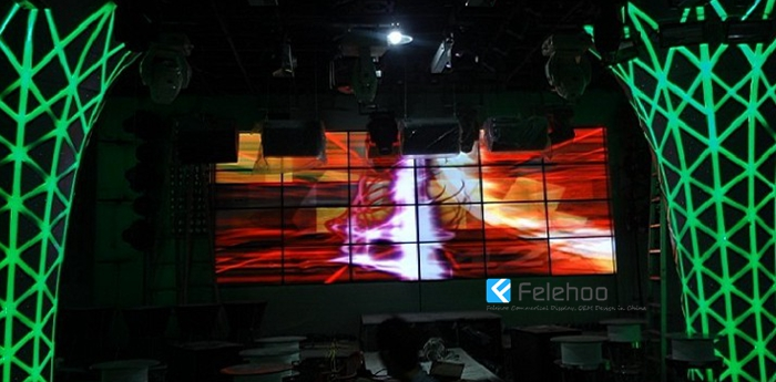 Low cost budget to Build a video wall 4x6 did lcd video system for stage,hotel,restaurant