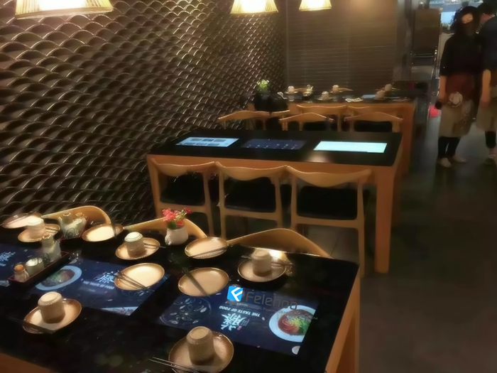 Felehoo sell multi touch table with best price-Touch Restaurant Table