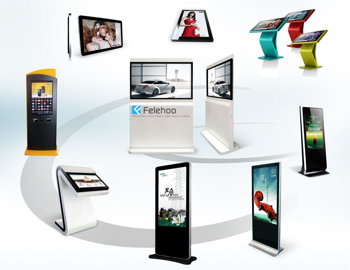 Newest lcd display advertising machine supplier