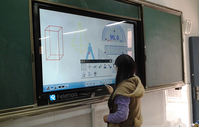 lcd touchscreen smart board interactive flat panel supplier