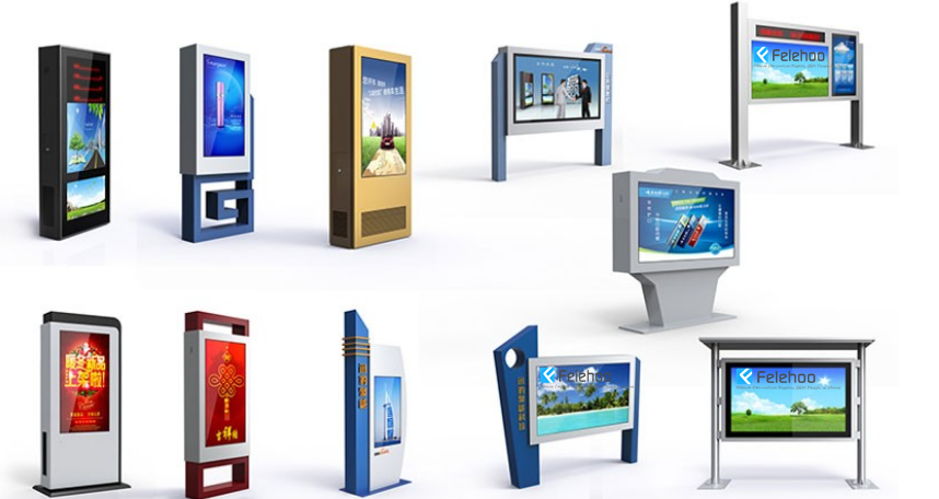 Customize designed large format lcd outdoor billboards manufacturer