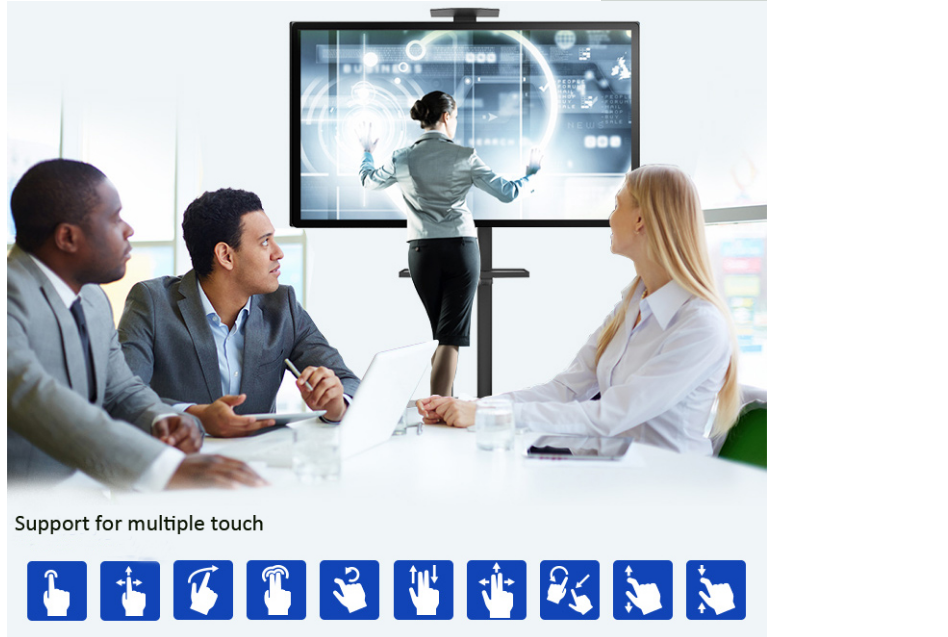 SMART Board interactive lcd touch whiteboard system for meeting room